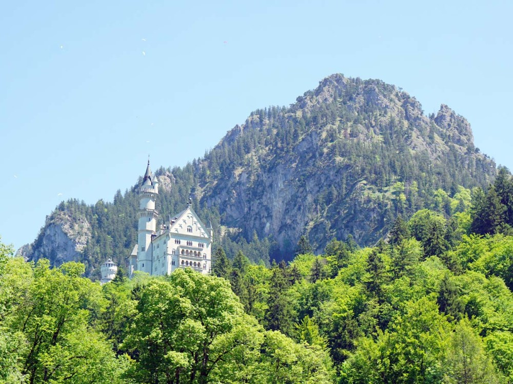 View of Neuschwanstein Castle from Hohenschwangau