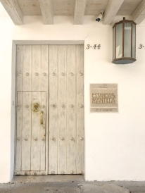 Door | Estancia de La Mantilla