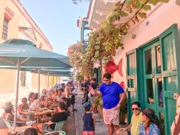 Outdoor Seating | La Cevichería