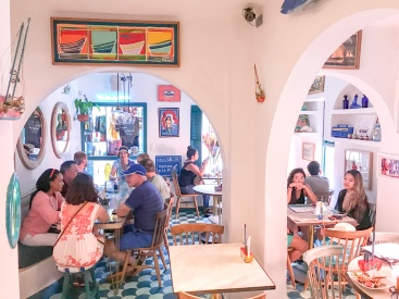 Inside Seating | La Cevichería