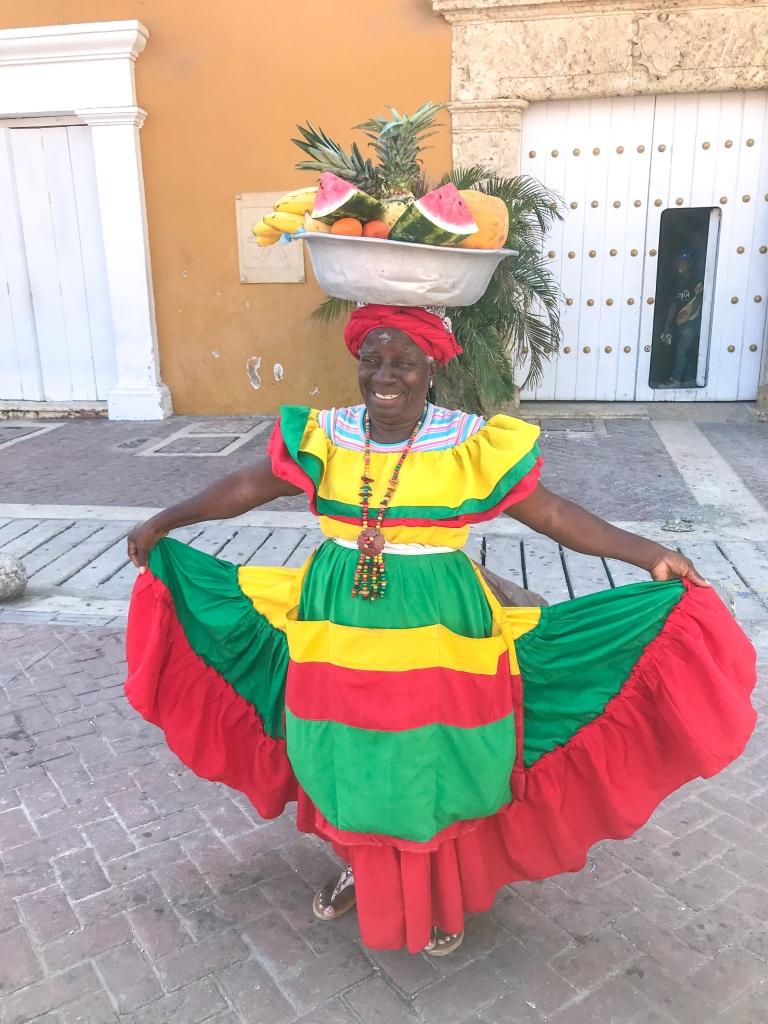 The Palenqueras aka Fruit Ladies of Cartagena